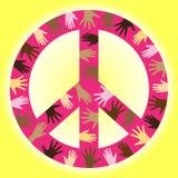 Frieden lizenzfreie abbildung