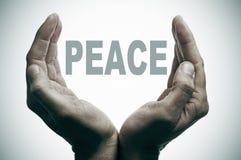 Frieden Lizenzfreie Stockfotos
