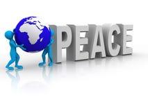Frieden stock abbildung