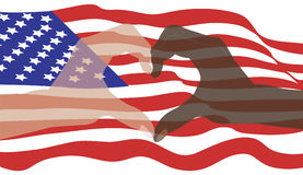 Frieden in Amerika Stockfotos