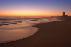 Frieden auf dem Strand Stockbild