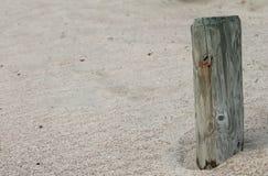 Frieden auf dem Strand Lizenzfreie Stockfotografie