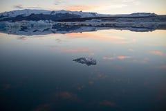 Frieden des Eises Stockfotos