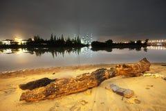 Frieden neben dem Fluss Stockbilder