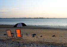 Frieden am Strand Lizenzfreies Stockbild