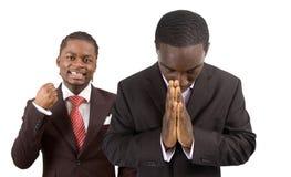 Frieden und frohes Geschäft Lizenzfreies Stockfoto