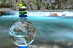 Frieden und Glück in der Natur Lizenzfreie Stockbilder