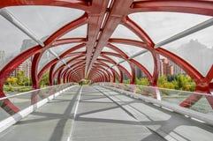 Friedensbrücke Lizenzfreie Stockfotos