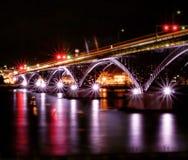 Friedensbrücke, die nach Kanada kreuzt Lizenzfreies Stockfoto