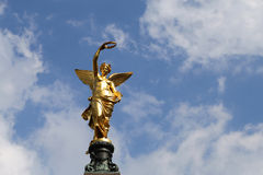 Friedensengel Liebenberg statue, Vienna University Stock Photography