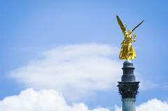Friedensengel - munich Royalty Free Stock Photos