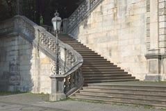 Friedensengel Staircase in Munich Stock Images