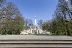 Friedensengel statue in Munich, Germany Royalty Free Stock Image