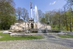 Friedensengel statue in Munich, Germany Royalty Free Stock Photography