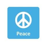 Friedensikone für Netz und Mobile Stockbilder