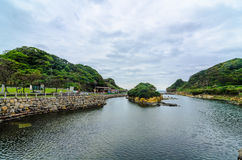 Friedensinsel, Keelung, Taiwan Stockfotografie