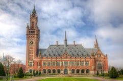 Friedenspalast, Den Haag Stockfotografie