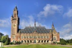 Friedenspalast in Holland stockbild