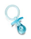 Friedensstifter des blauen Babys lizenzfreies stockfoto