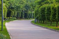 Friedensstraße im Park stockfoto