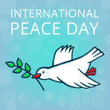 Friedenstag Stockfoto