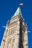 Friedensturm am Parlaments-Hügel Lizenzfreie Stockfotografie