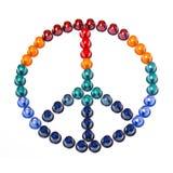 Friedenszeichen stockbild