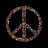 Friedenszeichen Stockfoto