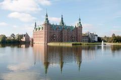 Friederiksborg城堡 免版税库存图片