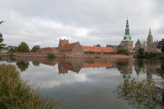 Friederiksborg castle royalty free stock photo