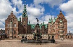 Friederiksborg slott Danmark Arkivbild