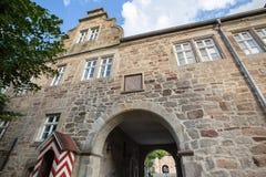 Friedewald Assia Germania del castel dell'acqua Immagine Stock