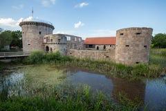 Friedewald Assia Germania del castel dell'acqua Immagini Stock
