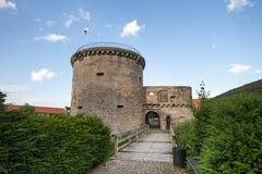 Friedewald Assia Germania del castel dell'acqua Fotografie Stock