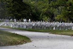 Friedhof Stockbild