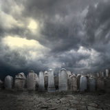 Friedhof Stockfoto