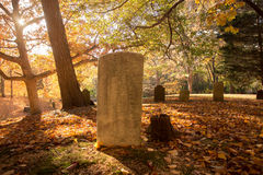 Friedhof stockfoto