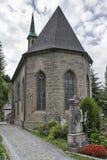 Friedhof der Collegekirche in Salzburg, Österreich Lizenzfreies Stockbild