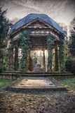 Friedhof 3. Entre of an old cemestry in a wood Royalty Free Stock Images