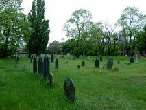 Friedhof in Salem, Masachusetts lizenzfreies stockbild
