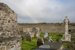 Friedhof vom ballyduff in der Grafschaft Kerry Stockfoto