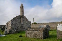 Friedhof vom ballyduff in der Grafschaft Kerry Stockbild