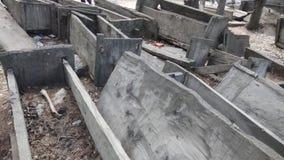 Friedhof von Kalash-Tal stockfotos