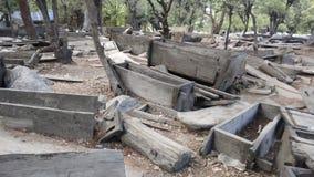 Friedhof von Kalash-Tal lizenzfreies stockfoto
