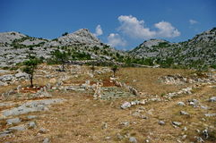 Friedhof von Seelen Stockfoto