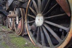 Friedhof von verlassenen Zügen Lizenzfreie Stockfotografie