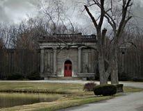 Friedhofsszene Lizenzfreie Stockfotografie