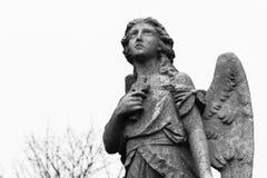 Friedhofstatue Lizenzfreies Stockfoto