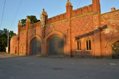 Friedland Gate, Kaliningrad Stock Images