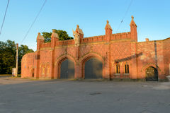 Friedland Gate, Kaliningrad Stock Photo